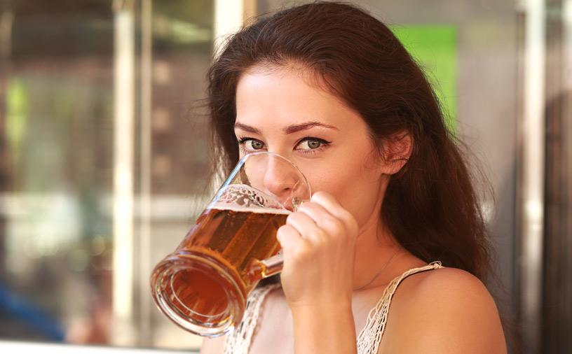 пиво на раннем сроке беременности